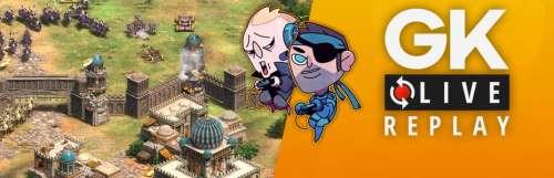 Gk live (replay) - Gautoz et Le Père Fidalbion se font wololo sur Age of Empires 2 : Definitive Edition