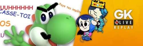 Gk live (replay) - Luma et Pipo en décousent (enfin !) sur Super Smash Bros. Ultimate