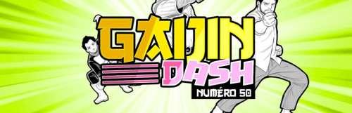 Gaijin dash - On trace les contours du Cel-Shading pour la cinquantième de Gaijin Dash
