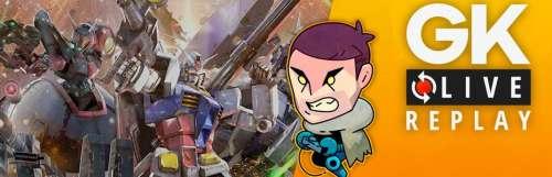 Gk live (replay) - A la découverte de Mobile Suit Gundam Extreme VS. Maxiboost ON