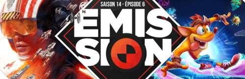 Gamekult, l'émission - Le pari Star Wars : Squadrons, retour gagnant pour Crash Bandicoot