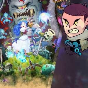 Gk live (replay) - Puyo rage (un peu) sur Ghosts 'n Goblins Resurrection