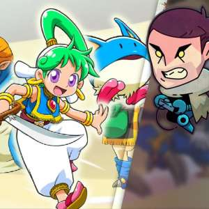 Gk live (replay) - GK Live Replay : la carte néo-rétro avec Wonder Boy Asha in Monster World