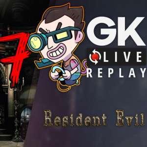 Gk live (replay) - A deux doigts de boire la tasse dans Resident Evil Remake (Partie 7)