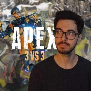 Action, réactions - Hubert a joué au mode 3 vs 3 de Apex Legends, véritable initiation au mode Battle Royale