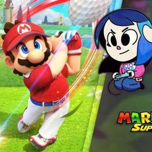 Gk live (replay) - Luma exerce son swing dans Mario Golf : Super Rush