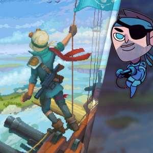 Gk live (replay) - Le Père joue les pirates des airs dans Black Skylands