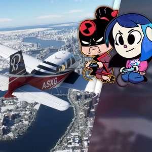Gk live (replay) - Luma et le pilote Cobalt décollent sur Microsoft Flight Simulator version Series X