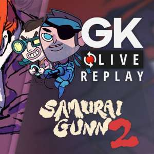 Gk live (replay) - Samurai Gunn 2 est le théâtre d'un combat fratricide entre le Père, Hubert et Julien