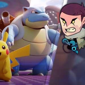 Gk live (replay) - Le jour où Puyo tomba dans le MOBA avec Pokémon Unite