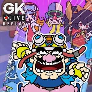 Gk live (replay) - Le Père et Luma réussissent les doigts dans le nez Wario Ware : Get it Together