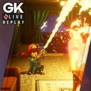 Gk live (replay) - Virgile enfile sa combinaison anti-feu et découvre Firegirl