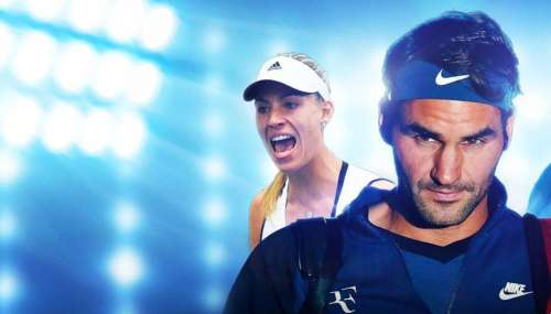 Test - Tennis World Tour, dit Flop Spin