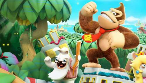 Test - Mario + The Lapins Crétins - Donkey Kong Adventure : c'est un grand oui(stiti)