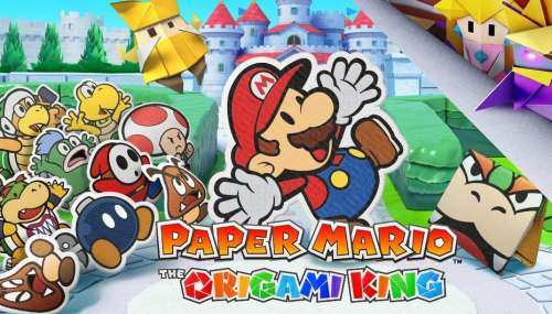 Test Paper Mario : The Origami King