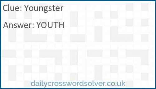 Youngster crossword answer