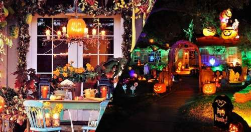 25 maisons qui rivalisent d'inventivité pour fêter Halloween