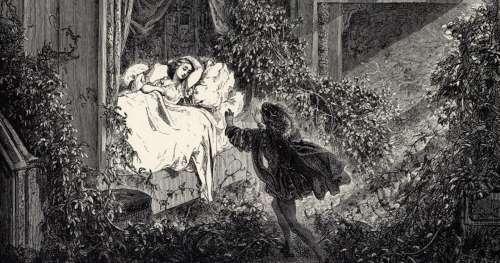 """À l'origine, La Belle au bois dormant a été violée dans son sommeil par le """"prince charmant"""""""