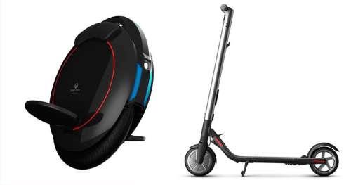 Vélo électrique, gyropode, trottinette : ces 4 engins high-tech en promo plairont à toute la famille