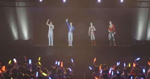 Ce boys-band composé d'hologrammes fait fureur au Japon