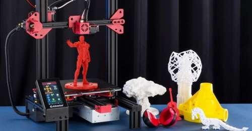 Les meilleures promotions Gearbest du jour : 20 imprimantes 3D à prix cassés