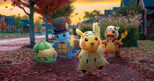 Découvrez les surprises que vous réserve Pokémon Go pour Halloween