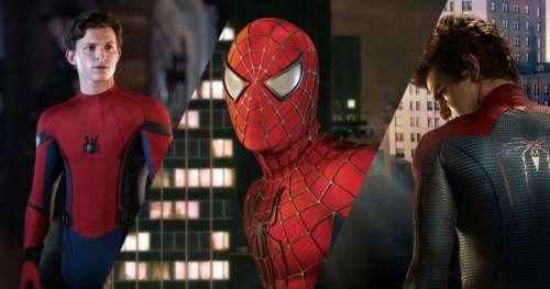 Un film Spider-Man pourrait réunir Tom Holland, Andrew Garfield et Tobey Maguire