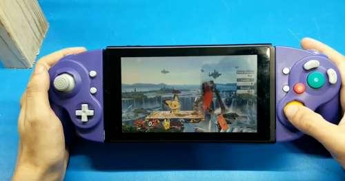 Ce talentueux youtubeur transforme une manette de GameCube en joy-con Nintendo Switch