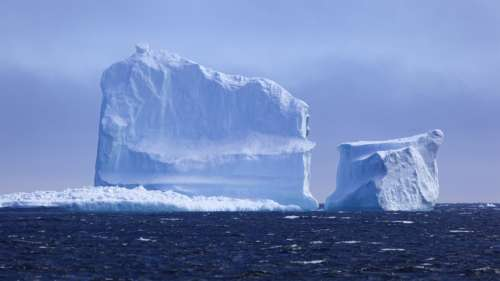 Réchauffement climatique : l'Antarctique vient de perdre un iceberg de 300 km2