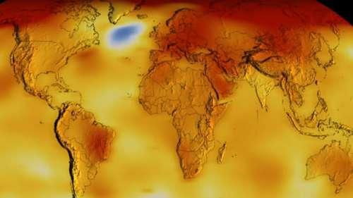 Ces données inquiétantes de la Nasa démontrent que les températures sont de plus en plus extrêmes