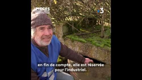 Honteux : cet éleveur interdit de puiser de l'eau de son propre terrain à cause de Nestlé