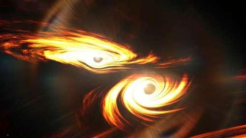 La plus grande collision de trous noirs jamais enregistrée à ce jour