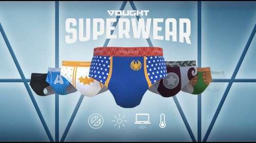 Amazon Prime présente les sous-vêtements The Boys dans une pub hilarante