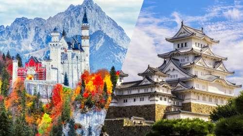 10 châteaux dans le monde qui méritent vraiment le coup d'œil