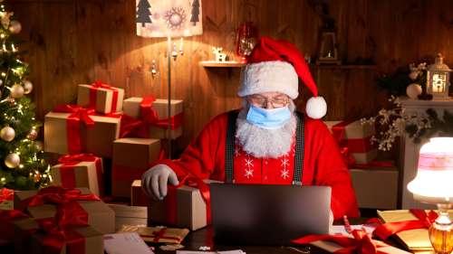 Afin de rassurer les enfants, l'OMS annonce que le père Noël est immunisé contre le Covid-19