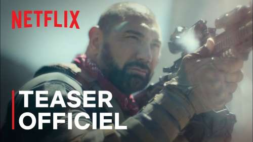 Netflix dévoile la bande-annonce d'Army of the Dead, le film de zombie de Zack Snyder