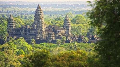 La construction d'un parc aquatique menace les temples d'Angkor