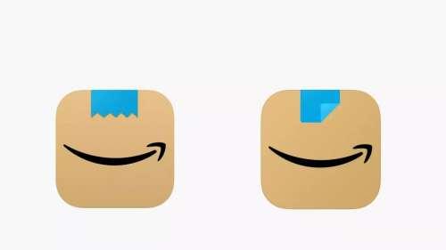 Amazon change le logo de son application car l'ancien ressemblait… à Hitler
