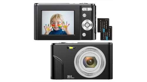Cet appareil photo numérique compact est à seulement 58,99 €