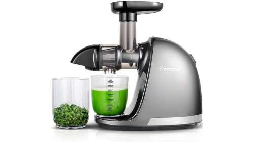 Réalisez de délicieux jus de fruits et légumes frais avec cet extracteur disponible à 99,99 €