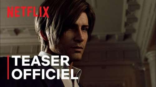 Resident Evil : Infinite Darkness dévoile une première bande-annonce angoissante