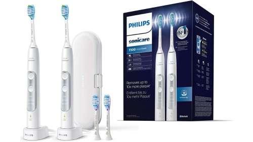 BON PLAN : 105 € de réduction sur ce lot de 2 brosses à dents électriques