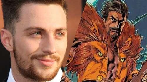 Aaron Taylor-Johnson sera Kraven the Hunter dans un spin-off de Spider-Man