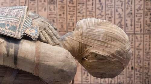 Pour la première fois, une momie égyptienne enceinte a été découverte
