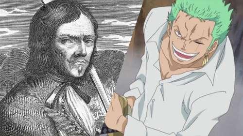 10 célèbres pirates qui ont inspiré les personnages de One Piece