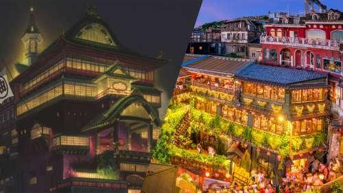 10 lieux magiques réels qui ont inspiré les films du Studio Ghibli