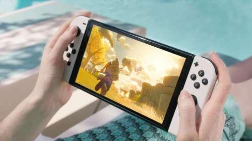 Nintendo officialise enfin la nouvelle Nintendo Switch avec son écran OLED