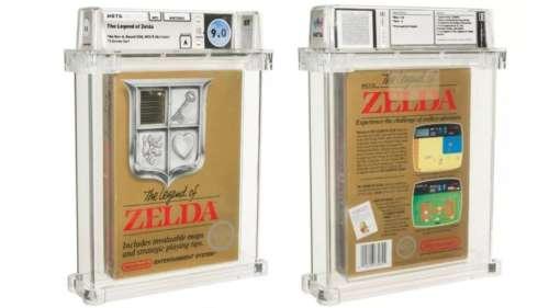 Une édition rare du premier jeu The Legend of Zelda vendue 110 000 dollars