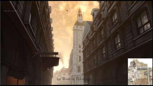 Arpentez les rues de Paris au XVIIIe siècle grâce à cette reconstitution vidéo