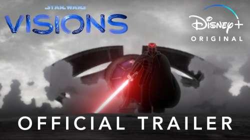 Star Wars : Visions se dévoile dans un trailer explosif